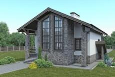 Визуализация и планировки деревянных домов  для размещения на сайтах 20 - kwork.ru
