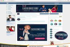 Оформлю и заверстаю меню сообщества в соц. сети Вконтакте 18 - kwork.ru