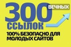 Продвижение любых одностраничных сайтов в ТОП 4 - kwork.ru