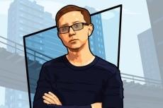 Нарисую векторный портрет 37 - kwork.ru