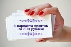 Создам дизайн 2-х листовок 24 - kwork.ru