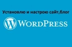 Выполню любую работу по WordPress сайту/блогу 4 - kwork.ru