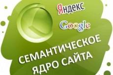Соберу семантическое ядро для сайта 4 - kwork.ru