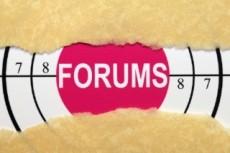 Размещение крауд ссылок на форумах женской тематики с ТИЦ от 100 12 - kwork.ru
