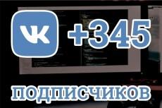Вконтакте Друзья. Подписчики на аккаунт, профиль 555 человек 5 - kwork.ru