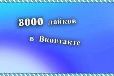 5000 лайков от живых подписчиков VKontakte на фото, записи, видео 7 - kwork.ru