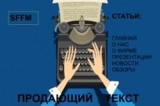 Продающий текст СЕО 7 - kwork.ru
