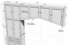 3D модель кухонного гарнитура 9 - kwork.ru