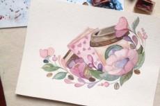 нарисую иллюстрацию акварелью 8 - kwork.ru