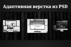 Качественная верстка из psd 259 - kwork.ru
