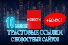 Вечная ссылка с новостного сайта 8 - kwork.ru