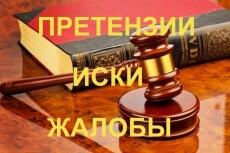 Составлю Иск, Жалобу 16 - kwork.ru