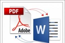Извлечение текста PDF, JPG-формата в Word и его редактирование 4 - kwork.ru