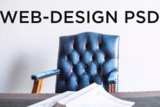 Дизайн блока сайта в PSD 36 - kwork.ru