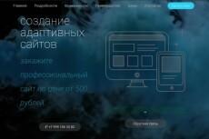 Сделаю сайт специалиста или блог 23 - kwork.ru
