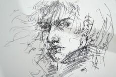 Рисунки, иллюстрации, портреты 35 - kwork.ru