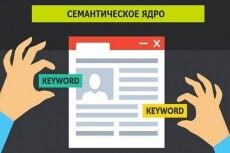 Семантическое ядро 400 эффективных запросов с группировкой по ТОПу 7 - kwork.ru