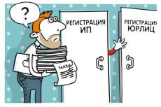 Помогу подготовить пакет документов на открытие ИП 11 - kwork.ru