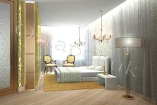 Интерьер спальни, гостиной 14 - kwork.ru