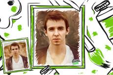 Портреты на заказ 38 - kwork.ru