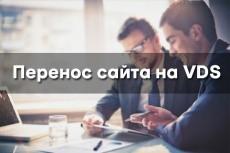 Перенос сайта на новый хостинг, vds или выделенный сервер 11 - kwork.ru