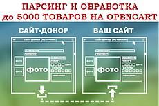 Сделаю сбор данных с объявлений двух топ-досок на букву А и Ю 20 - kwork.ru