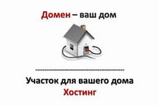 Подберу и оформлю красивый домен для Вас 7 - kwork.ru