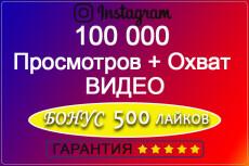 АКЦИЯ 1000 лайков под вашим видео с гарантией 30 дней 8 - kwork.ru