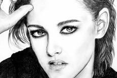 Простой карандаш и краски, портрет по Вашему фото 15 - kwork.ru