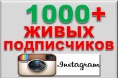 1000 подписчиков в вашу группу + бонусы 49 - kwork.ru