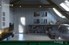 3D - визуализация кухонного гарнитура 28 - kwork.ru