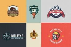Отрисую в векторе логотип или картинку 20 - kwork.ru