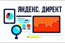 Рекламная кампания РСЯ Яндекс Директ на 100 ключей 12 - kwork.ru