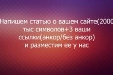 Напишу и размещу статью со ссылкой на сайте с ТИЦ 50 10 - kwork.ru