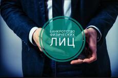 Составление заявления на банкротство физ. лица 7 - kwork.ru