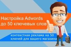 Настройка рекламных кампаний в AdWords 25 - kwork.ru