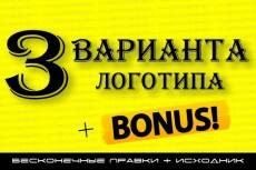 Дизайн логотипа 228 - kwork.ru