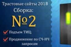 Свежая база трастовых сайтов 150 шт 10 - kwork.ru