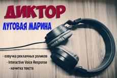 Озвучу текст для рекламы, зачитка текстов 15 - kwork.ru