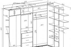 Создам проект  корпусной мебели 29 - kwork.ru
