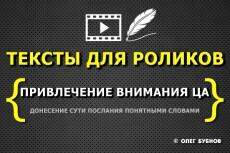 Напишу сценарий для ролика или видеорекламы 9 - kwork.ru