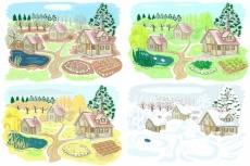 Нарисую картинку для печати на бумаге или на ткани 14 - kwork.ru