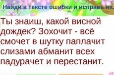 Выполню обработку любого текста 4 - kwork.ru