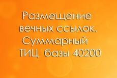 30 ссылок на ваш сайт с ТИЦ от 1600. Общий тИЦ - 97 315 5 - kwork.ru