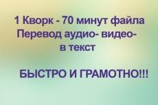 Наберу текст 3 - kwork.ru