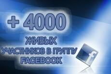 Продам группу на Facebook от 1000 участников 21 - kwork.ru