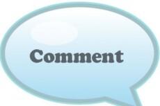 Напишу 10 комментариев на форуме или сайте 13 - kwork.ru