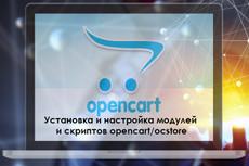 Установлю модуль упрощённой регистрации и заказа на OpenCart OcStore 5 - kwork.ru