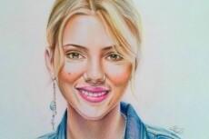 Напишу портрет в карандаше 23 - kwork.ru