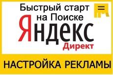 Настрою рекламную кампанию в Яндекс Директ (100 объявлений на 100 ключевых слов) 5 - kwork.ru